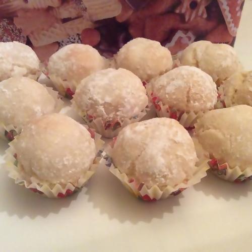 Boules aux amandes - Recette blanc d oeuf thermomix ...